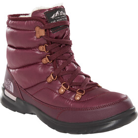The North Face Thermoball Lace II Schoenen Dames rood